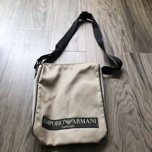 Emporio Armani adjustable strap crossbody bag 11x8